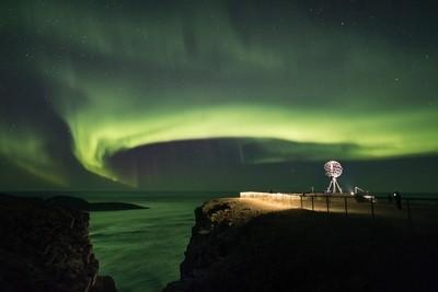Northernmost auroras