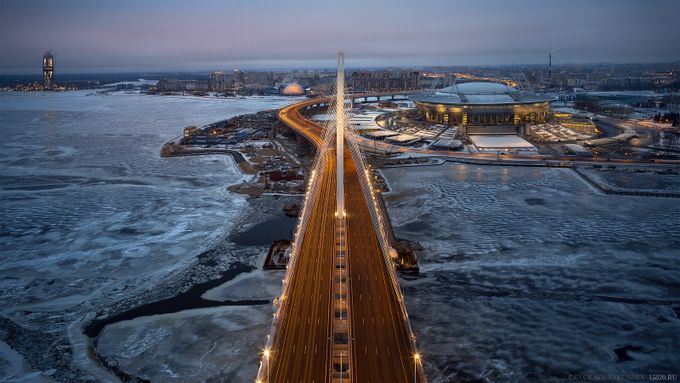 Highway in Saint Petersburg  by yakushevgeniy - Leading Lines Photo Contest vol1