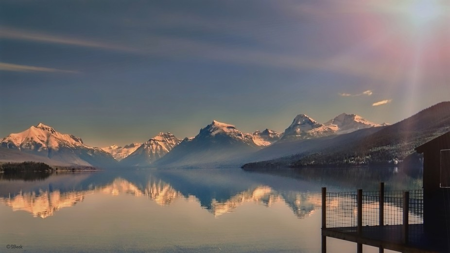 Morning on Lake McDonald....