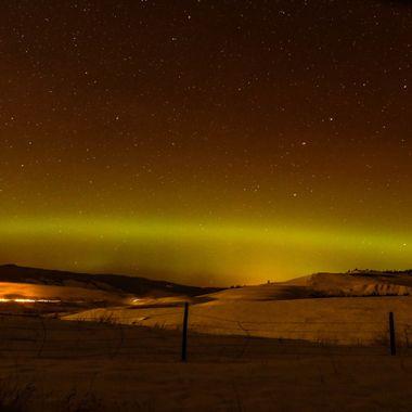 Northern Lights at Upper Nicola B C