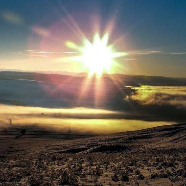 Sunrise Glimpse Lake