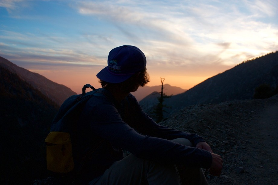 Mount Baldy Sunset