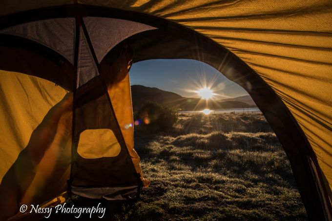 Sunrise Camping - W Trek by Rangerness-PV - Outdoor Camping Photo Contest