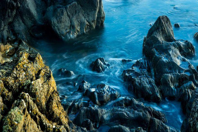 Quintin Bay rocks