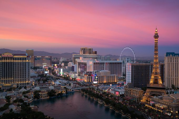 Vegas by dpgoldphotos - Sunset And The City Photo Contest