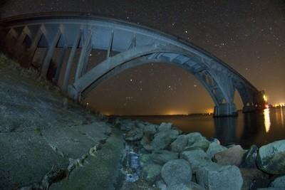 Orion Under the Bridge