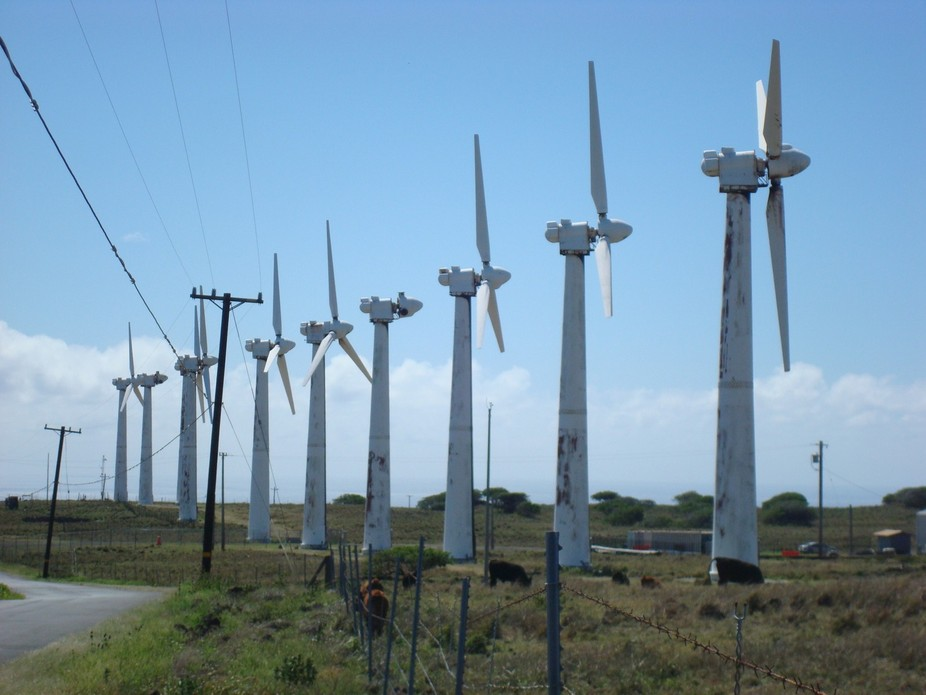 Old windmills in Hawaii