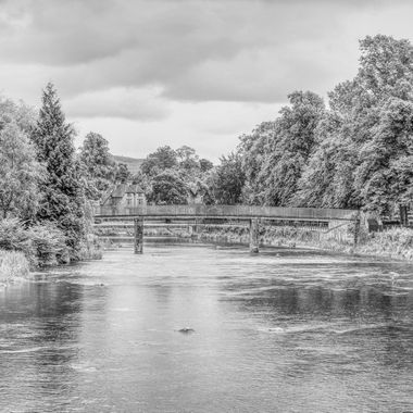 I took this photo when me and the family went to the Lake District, in the year 2012. We were walking along the river in the town of Kendal and this was one of the photos I took that day.