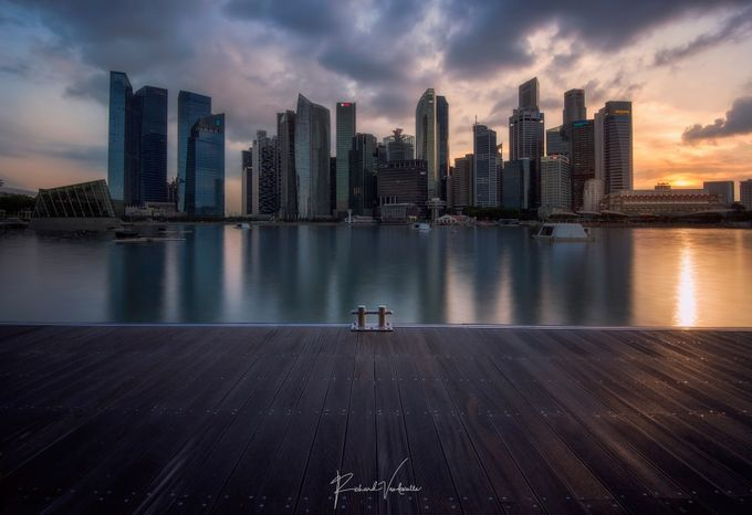 City Dock by richardvandewalle - Sunset And The City Photo Contest
