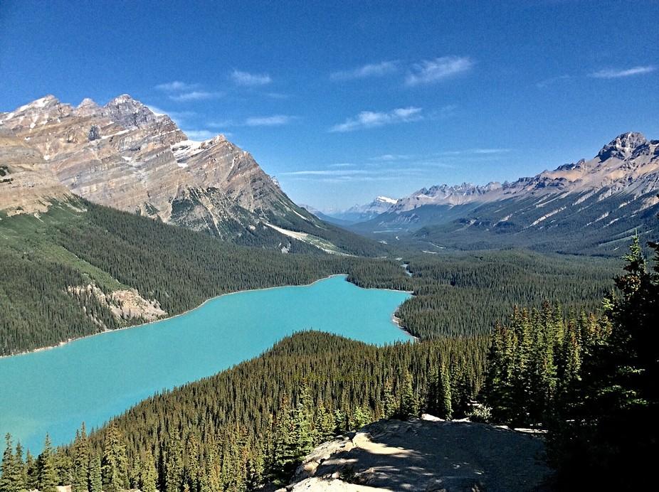 Peyto Lake, Alberta,Canada