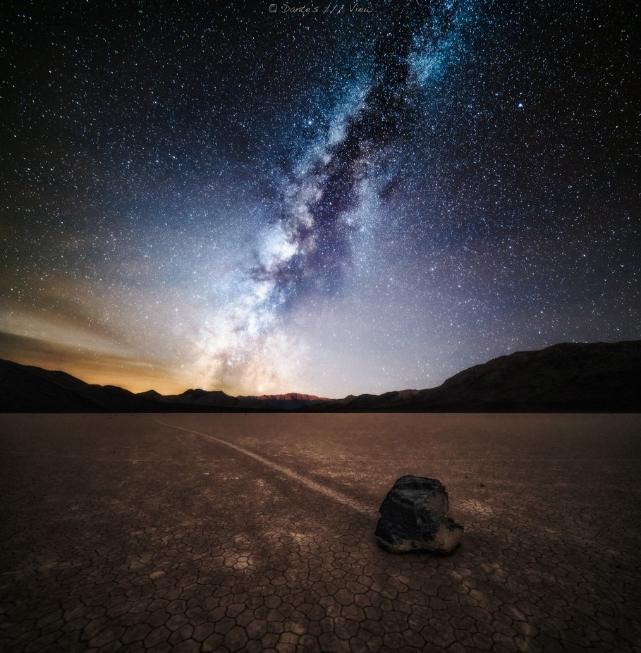 The Racetrack by Dantes_View - The Milky Way Photo Contest