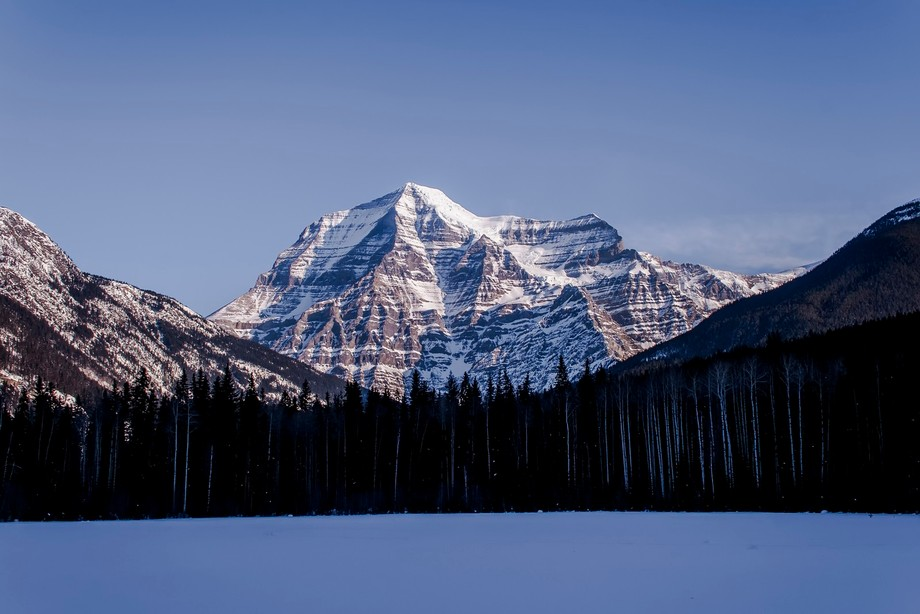 Mount Robson in Mount Robson Prov. Park in BC