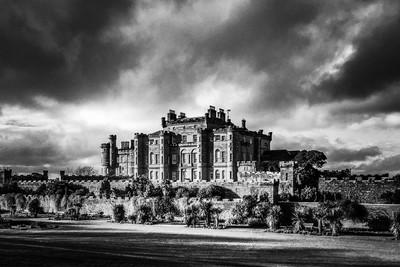 Culzean Castle with an Angry Sky