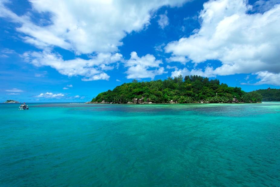 Marine Park, Mahe, Seychelles. 2016.