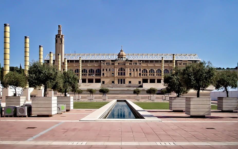 Estadi Olímpic Lluís Companys (formerly - Estadi Olimpic de Montjuic) Originally built in 1927 ...