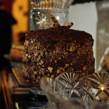 Seven Layer Chocolate Cake by Chef Alexandra Hannah