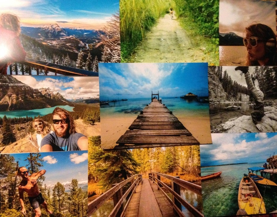 A collection of scenic photographs I had taken on  our journey through the Central America and Ca...