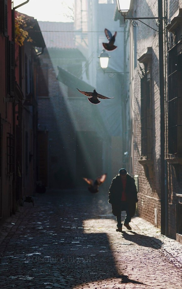 Escape from the darkness by Blionbg