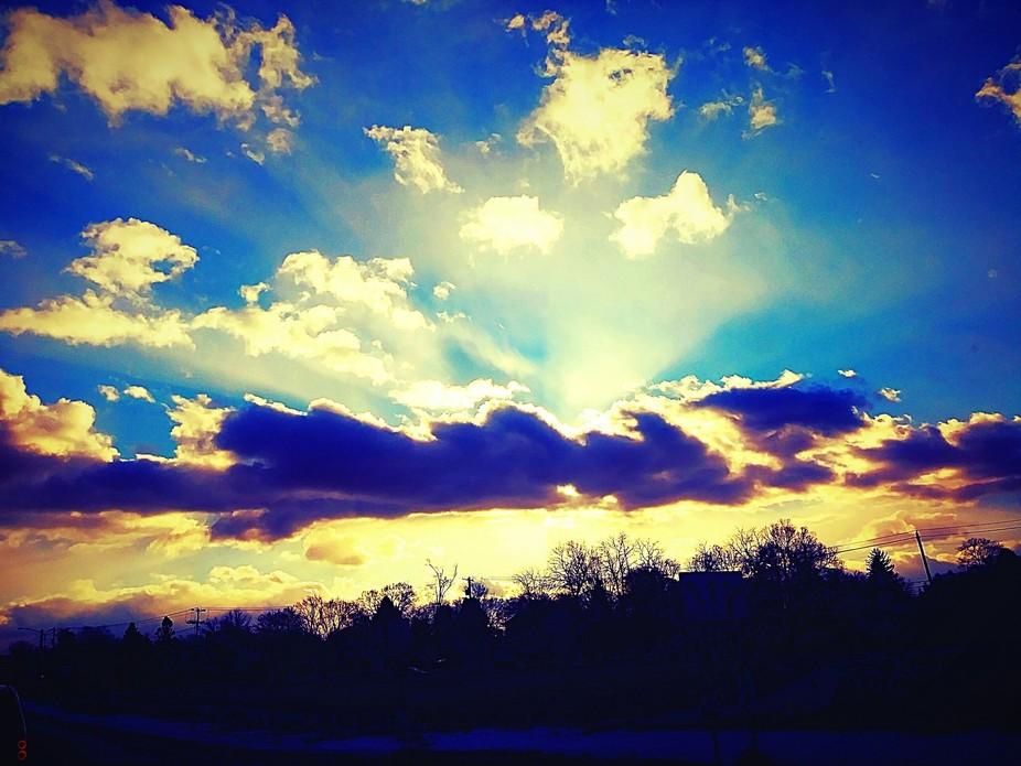 Glorious Sun Rays
