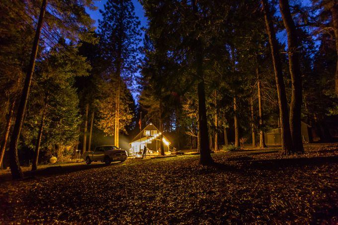 At the Cabin IV-8843 by misterscott - Experimental Light Photo Contest