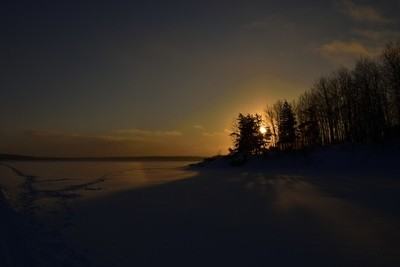 Winter Sundown