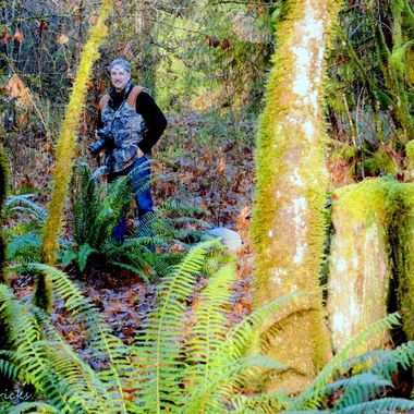 A good friend and fellow photographer at Harrison River Country