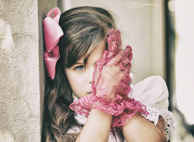 pink gloves by Child_Expressions - Gloves Photo Contest