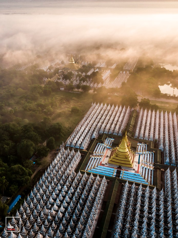 Khu Tho Taw Pagoda  by myominkyaw - Rooftops Photo Contest 2018