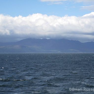 Isle of Arran Taken from ferry headed back to Androssan
