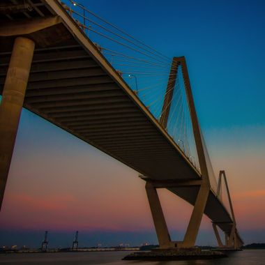 The Ravenel Bridge, Charleston, South Carolina