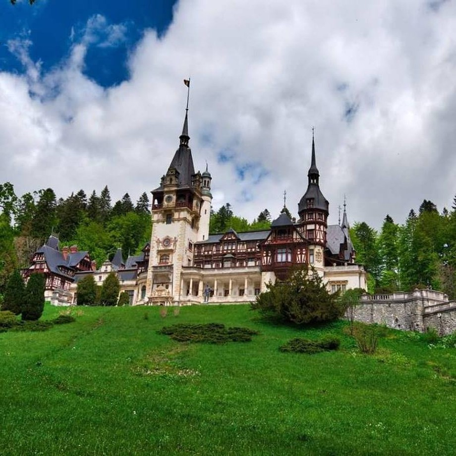Peles Castle in Romania. Built as the summer castle for King Carol I in 1873