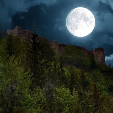 This is the real Dracula castle in Romania deep in the Carpathian Mountains.