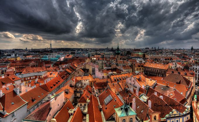Roofs of Prague by runeaskeland - Rooftops Photo Contest 2018