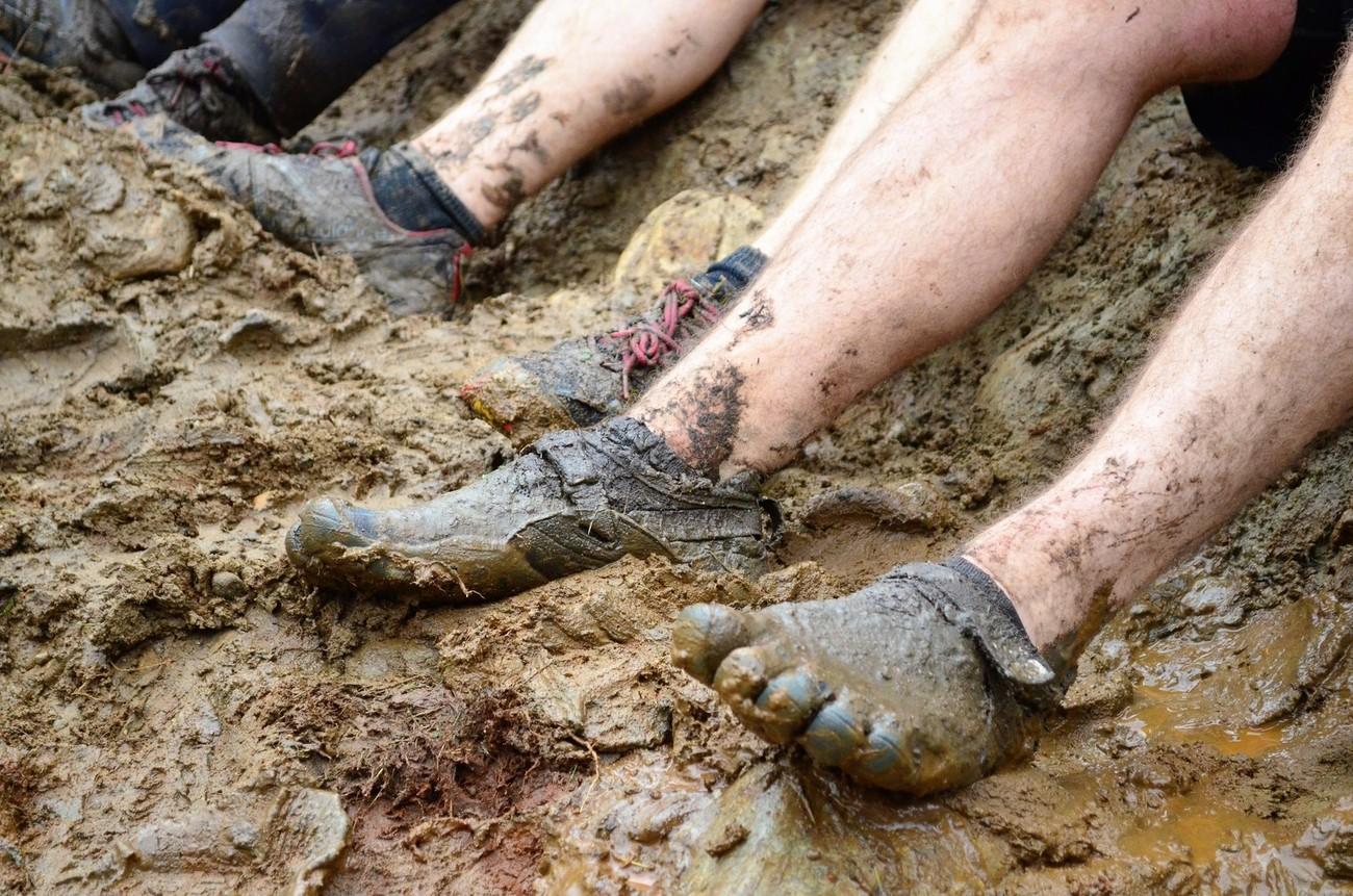 mudder feet