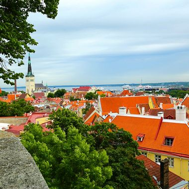 Colorful Tallinn, Estonia!