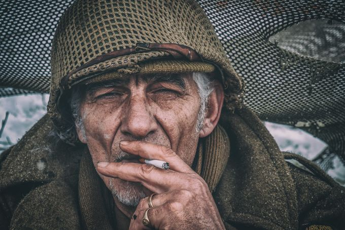 Soldier by christiankieffer - Male Portraits Photo Contest