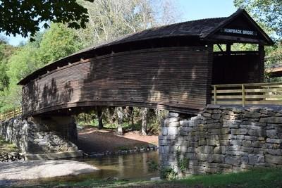 Covered bridge in Virginia