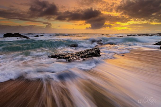 DANCING SEA by benzcatbagan - Boulders And Rocks Photo Contest