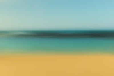 Long Exposure Beach Art #3