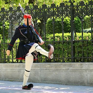 Palace guardsman in Athens!
