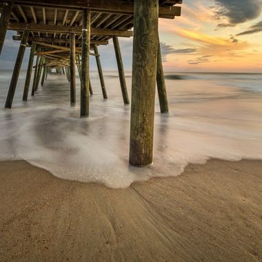 The Bogue Inlet Pier in Emerald Isle North Carolina