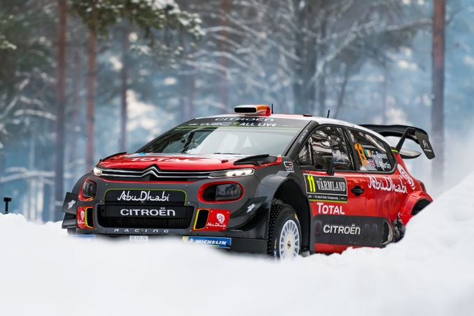 "WRC ""Sweden Rally"" 2018 by carlostojo - My Favorite Car Photo Contest"