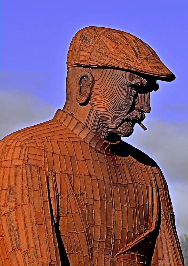 Memorial to Fishermen killed at sea at North Shields.