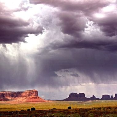 Monument Valley before the storm copy