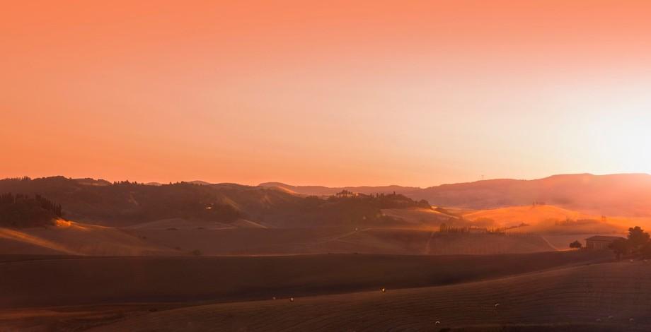 Tuscany Farm Valley