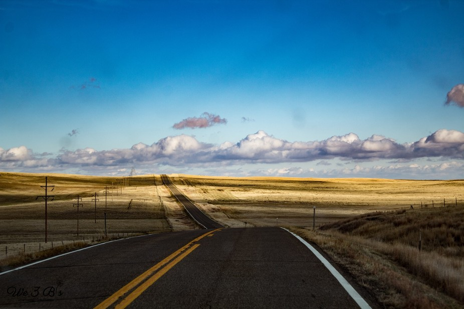 Scenic Route- Hwy 200 through rural Montana