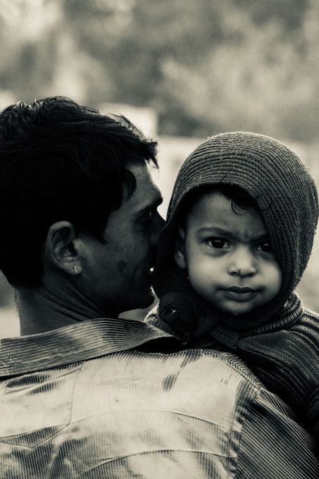 Lovely & beautiful relationship of father & son