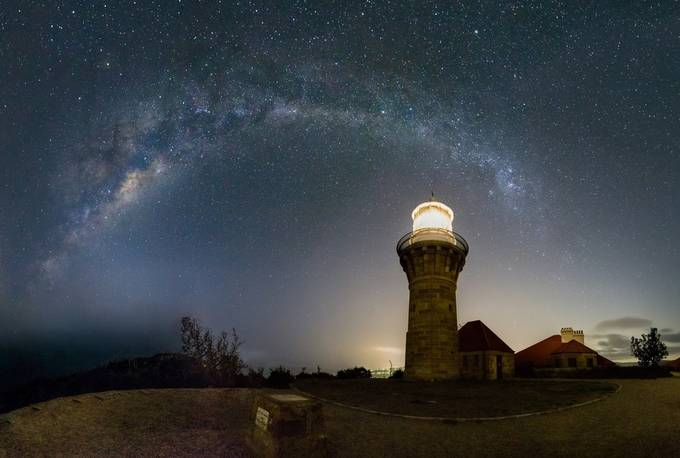 Barrenjoey Milkway Arch by phil_broadbent - Capture The Milky Way Photo Contest