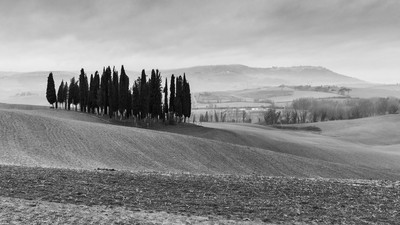Winter in Val d'orcia