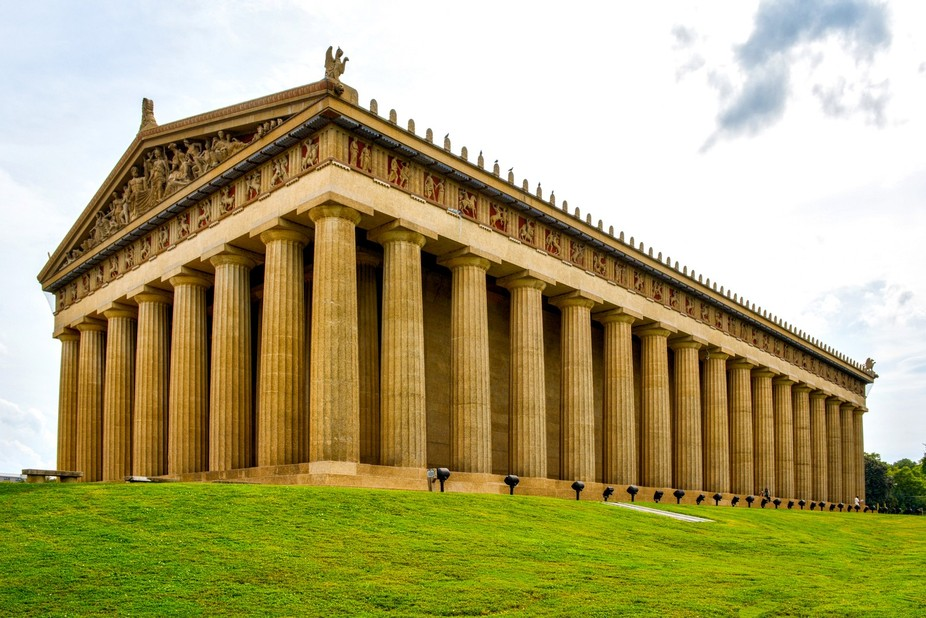 This is the Parthenon, which sits in Centennial Park in Nashville, TN.  It has a slight HDR appli...